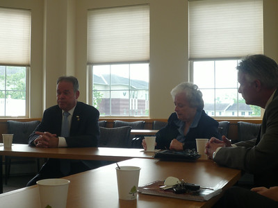 County Exec Ed Day Visits Campus 2014