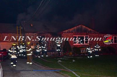 Wantagh F.D. House Fire 3651 Woodbine Ave 8-2-12