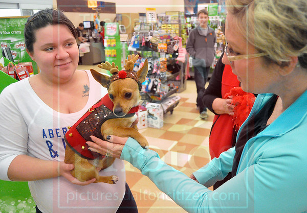 Santa with Pets at Petco 11/30/13