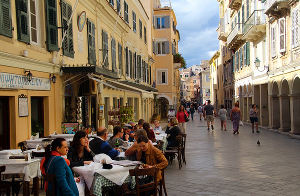 Take a Delightful Stroll Through the Colorful UNESCO Heritage Island of Corfu
