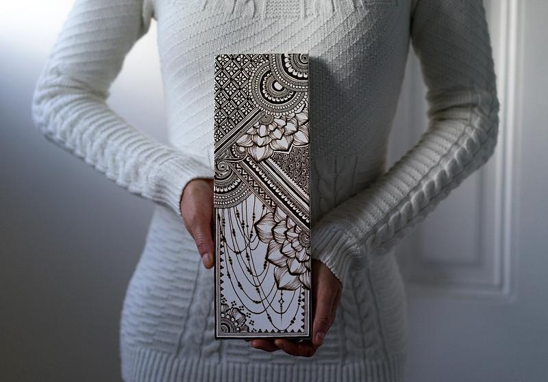 Henna on canvas
