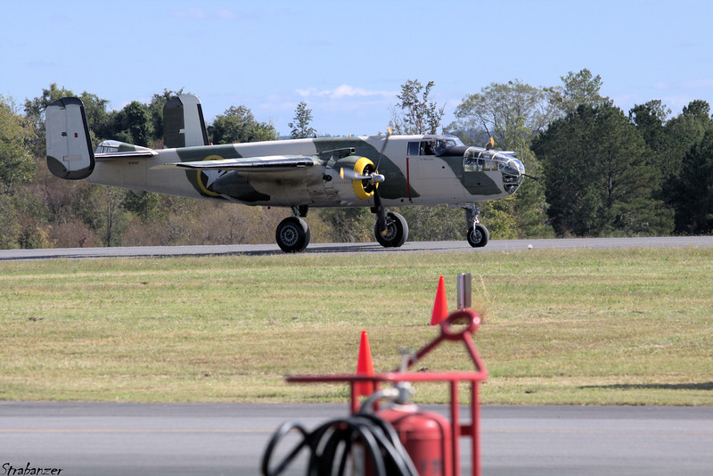North American B-25J Mitchell    s/n  44-86697   N62163 Rome GA 10/13/2018 This work is licensed under a Creative Commons Attribution- NonCommercial 4.0 International License.
