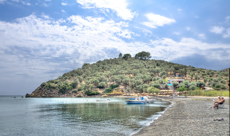 Charamida Beach, Lesvos, Greece