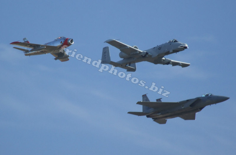Heritage Flight (Sabre,Warthog,F-15)