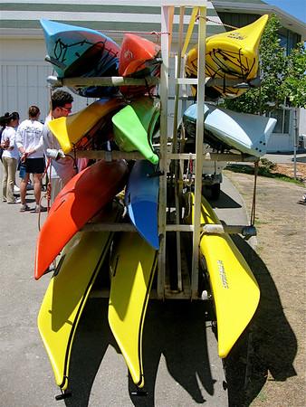 Kayaking With Jack London Aquatic Center-July 2, 2009