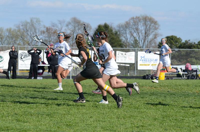 Girls Varsity Lacrosse March 20 vs Harford Tech