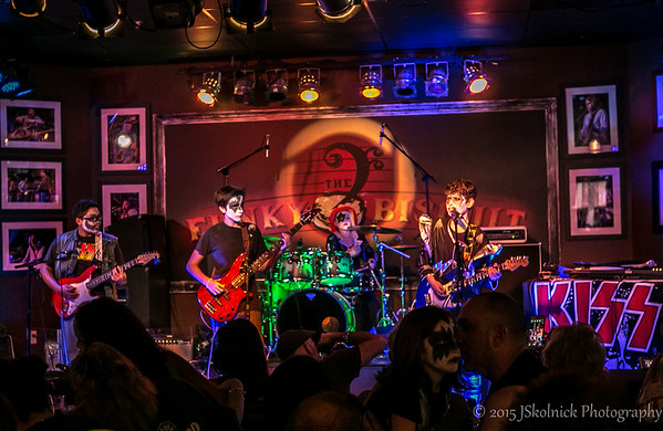 9/27/15 School of Rock (Kiss Set) at the Funky Biscuit