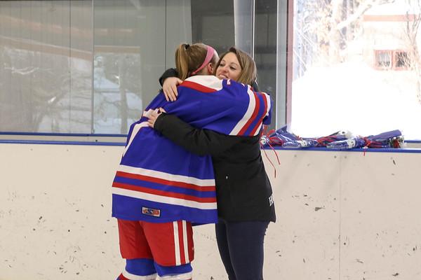 Girls' Varsity Hockey Senior Ceremony