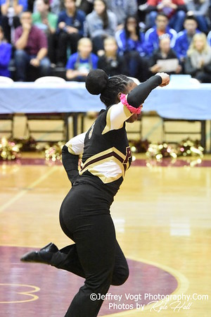 2-13-2016 Paint Branch HS Varsity Poms at Blair HS MCPS Championship, Photos by Jeffrey Vogt Photography with Kyle Hall