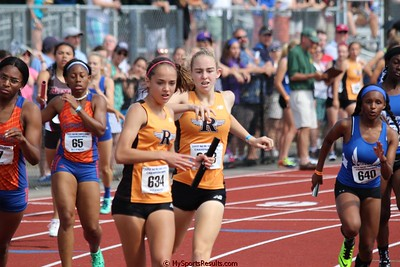 Girls 4x400m Relay