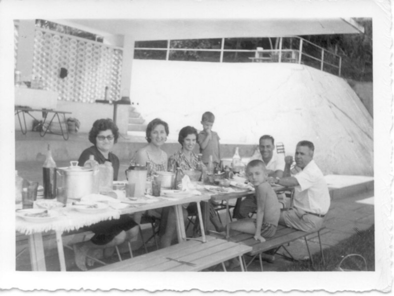 1963-Pique-nique em Andrada Familias: Rios, Adalbertos e Antonio Silva