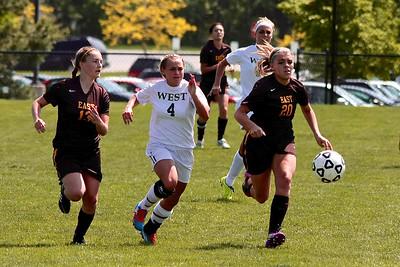 Zeeland West Girls Soccer vs Zeeland East