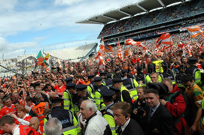 The Sea of Orange and White which flooded croke park after the match. 06W27N254