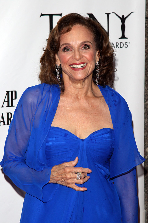 """. Valerie Harper, who\'s been nominated in the Best Performance by a Leading Actress in a Play category for her work in \""""Looped,\"""" arrives at the 61st annual Tony Awards, Sunday, June 13, 2010 in New York.  (AP Photo/Peter Kramer)"""