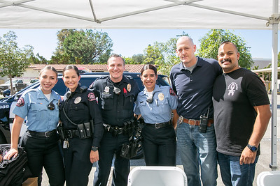 Police, Fire Departments Host Public Safety Barbecue