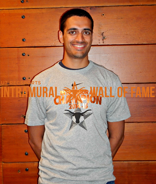 FALL RACQUETBALL Men's Singles C Champion  Kush Muzumdar