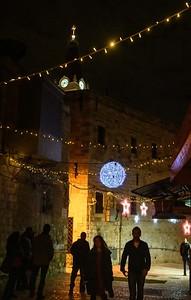 Chrismess in Jerusalem old Town