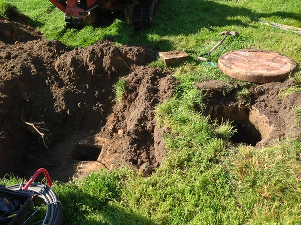 Nativity Septic System Overhaul - 2015