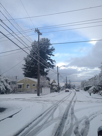 Seattle Snow 2012