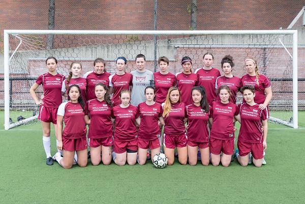Willamette Club Soccer Team Photos - Apr. 30, 2017