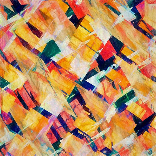 Blazing Swan Abstract #1