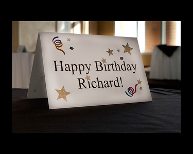 Richard G's 60th Birthday