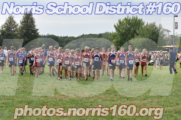 Middle School Cross Country at Crete