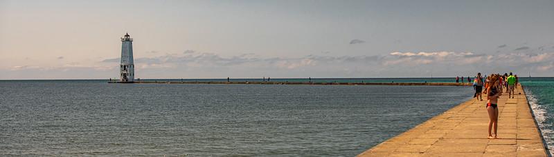Frankfort Lighthouse, Michigan - 2019