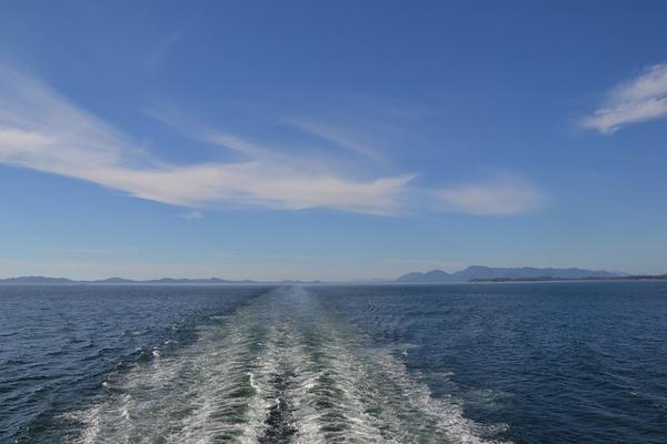 El ferry del Inside Passage