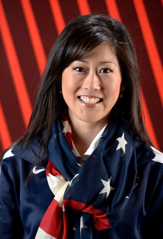 . Figure skater Kristi Yamaguchi poses for a portrait during the USOC Media Summit ahead of the Sochi 2014 Winter Olympics on September 29, 2013 in Park City, Utah.  (Photo by Harry How/Getty Images)