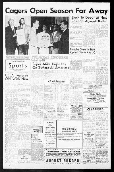 Daily Trojan, Vol. 57, No. 51, December 03, 1965