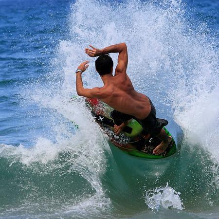 Boca Raton, Florida, Beach Skim Boarding July 4th, 2007 2pm