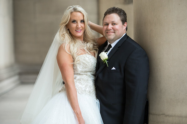 Kelly & Andy Macey Renaissance Hotel Downtown Pittsburgh Wedding