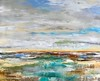 "Shorebreak-Jardine, 40""x50"" painting on canvas"