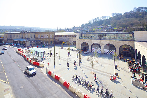 Bath Southgate Transport Interchange and Brunel Square Piazza