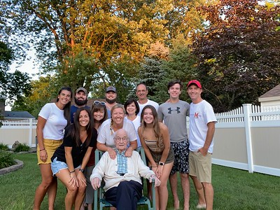 Aug. 8: Buffalo Visit with Grandma Denise, Aunt Mary and Cousins Jessie, Jake, Johnny and Grandpa Fleckenstein