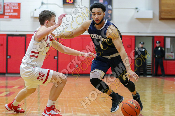 North Attleboro-Foxboro Boys Basketball - 02-14-20