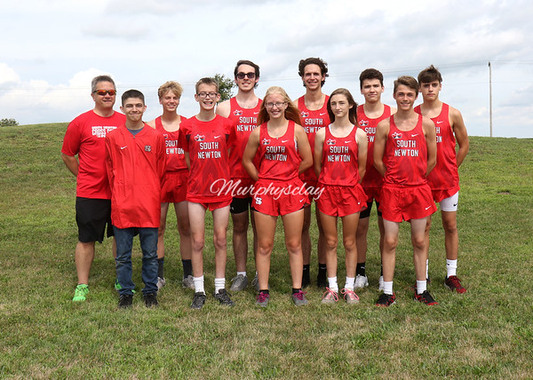 SN HS Cross Country Team 2019