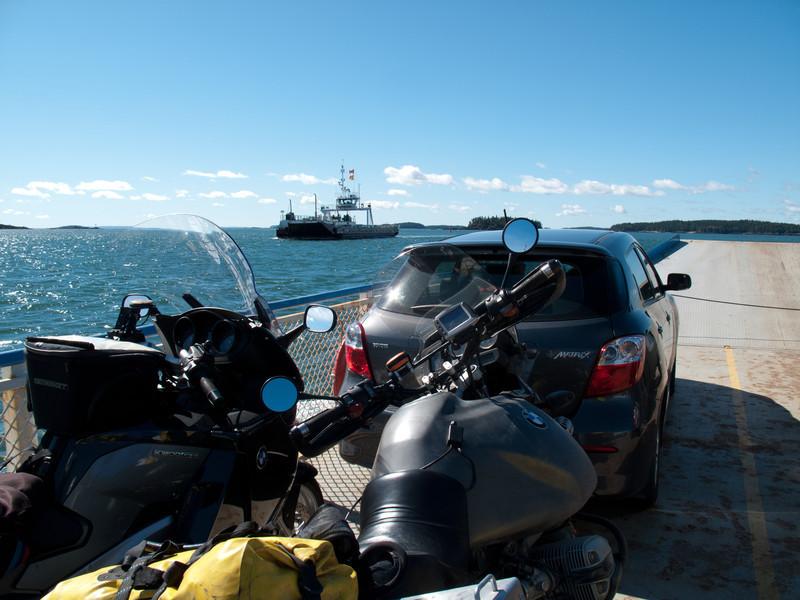 Ferry to Deer Island