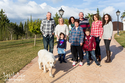 Claire and Family Photography Session Preview - Mijas Costa