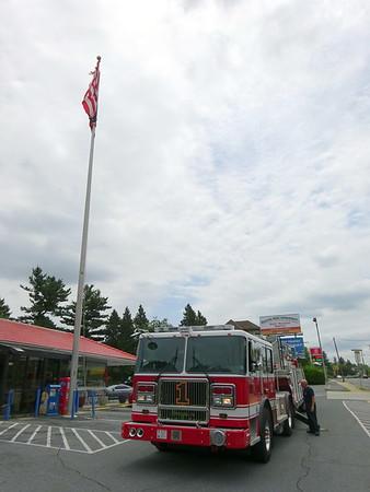 5.25.2019 - Queen City Diner Flag Raise