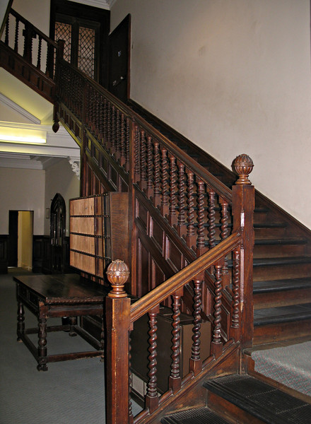 Upstairs, Downstairs, Backstairs... 