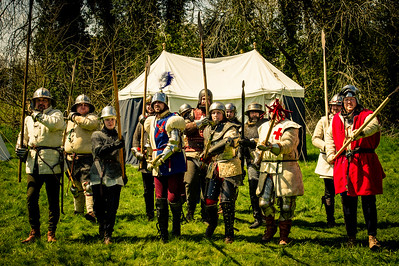 God's Company of Tabor - Medieval Re-enactment Training