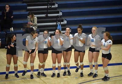Iowa Lakes @ ICCC Volleyball 10/19/16