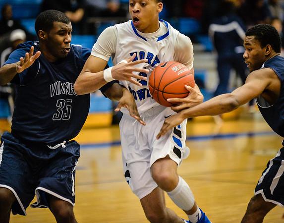 Basketball Boys Varsity vs  Lamar 01-21-14-8