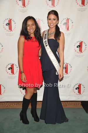 Margaux Robin, Miss USA 2014 Nia Sanchez