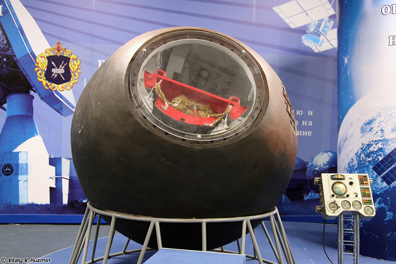 Спускаемый аппарат Восток-3А (Vostok-3A spacecraft)