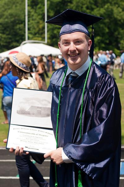 Kurt Graduates!