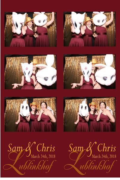 Sam and Chris Wedding 3/24/2019