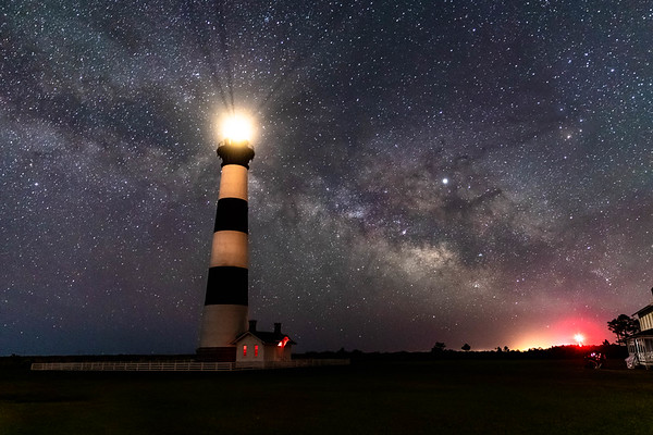 Milky Way and Bodie Island Lighthouse May 2019